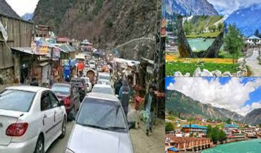On the third day of Eid-ul-Adha, thousands of tourists reached Swat