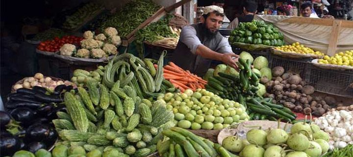 Vegetable prices rise in peshawer